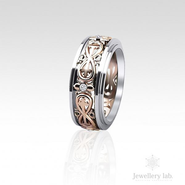 Обручальные кольца на заказ в Киеве - изготовление ювелирных изделий